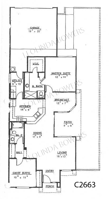 Sun City West San Manuel Model Floor Plan