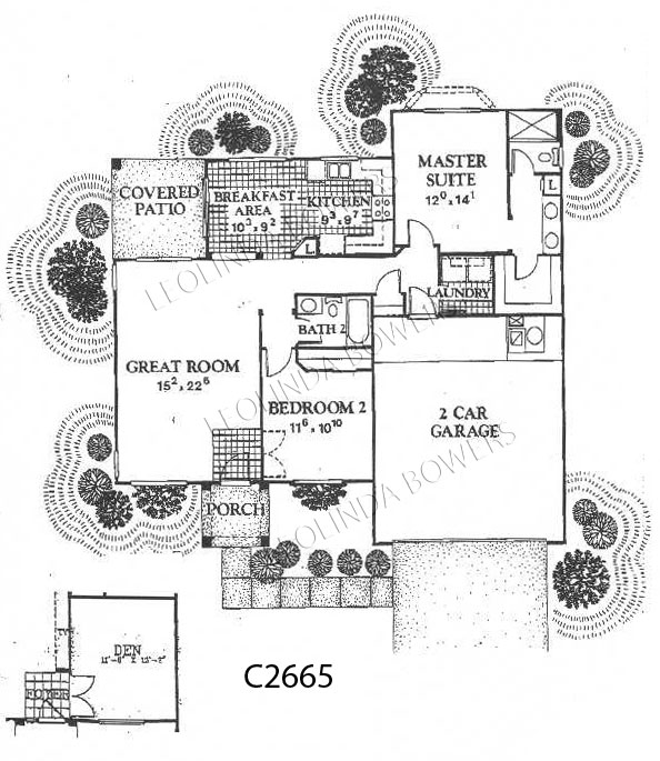 Sun City West Paradise Model Floor Plan