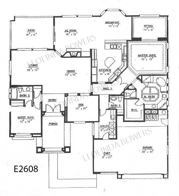 Sun city west avondale model floor plan Avondale house plan