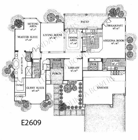 Sun City West Scottsdale Model Floor Plan