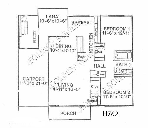 Sun City West Stuyvesand Model Floor Plan