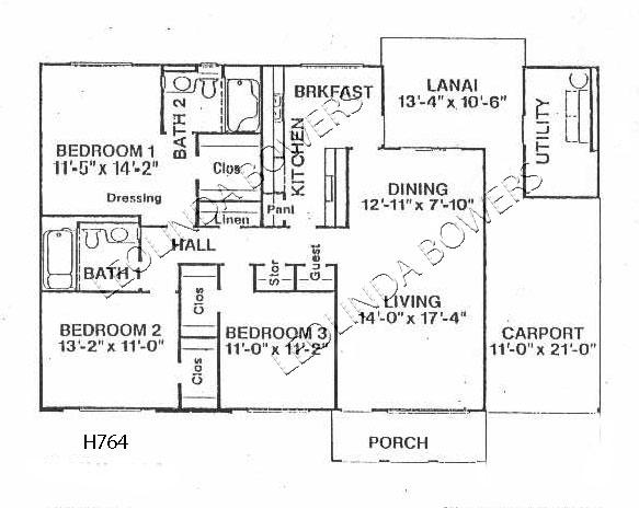 Sun City West Valley Forge Floor Plan