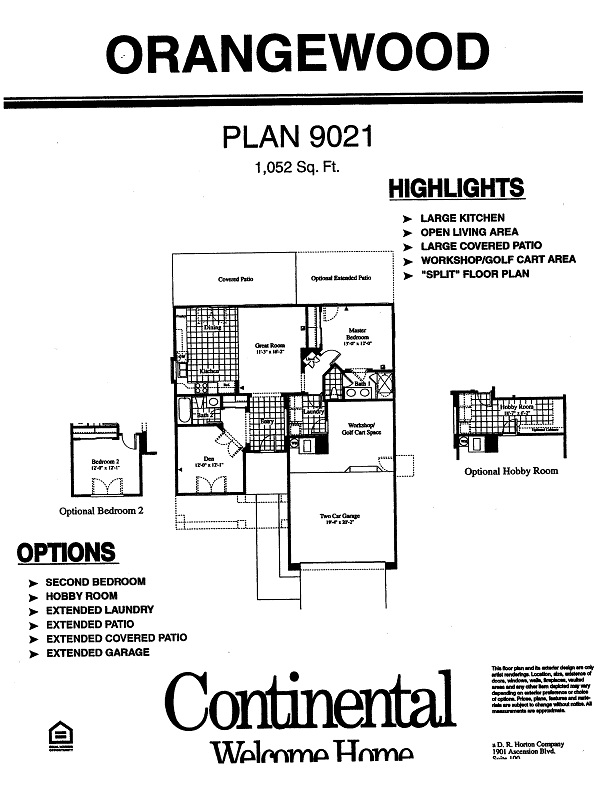Floor Plans For Orangewood Models Inside Arizona