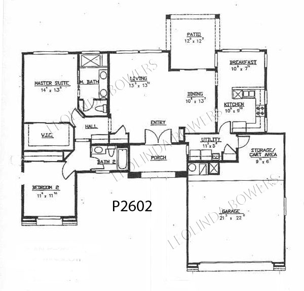Sun City West Winslow Model Floor Plan