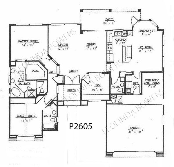 Sun City West Ventana Floor Plan