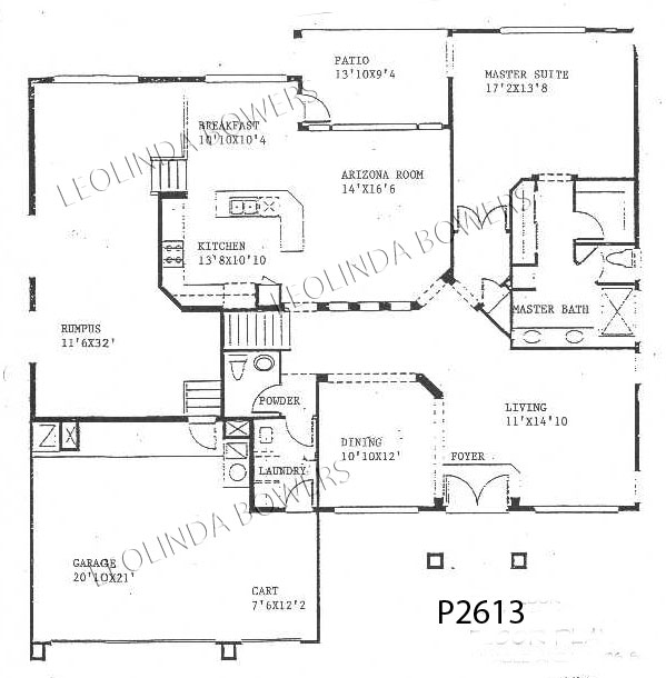 Sun City West Bellemont Model Floor Plan