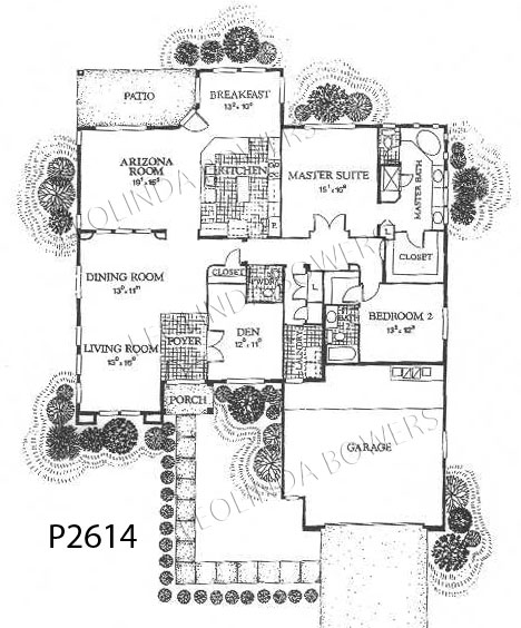 Sun City West San Carlos (93) Model Floor Plan