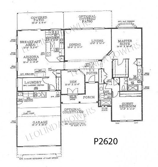 Sun City West Catalina 93 Floor Plan