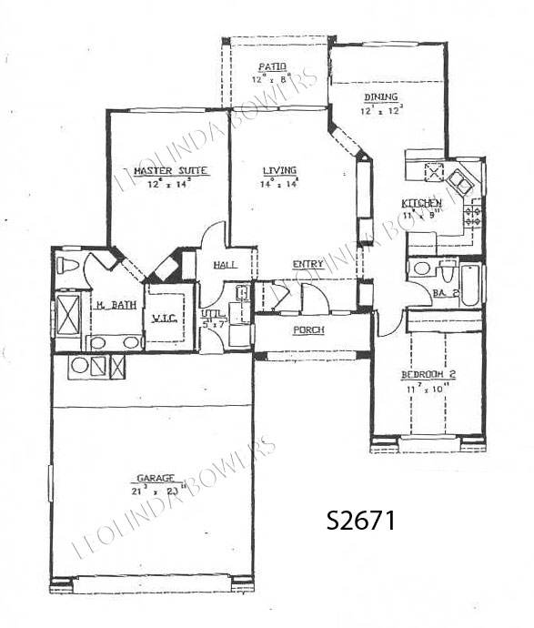 Sun City West Rio Verde Model Floor Plan