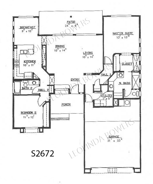 Sun City West Payson Model Floor Plan