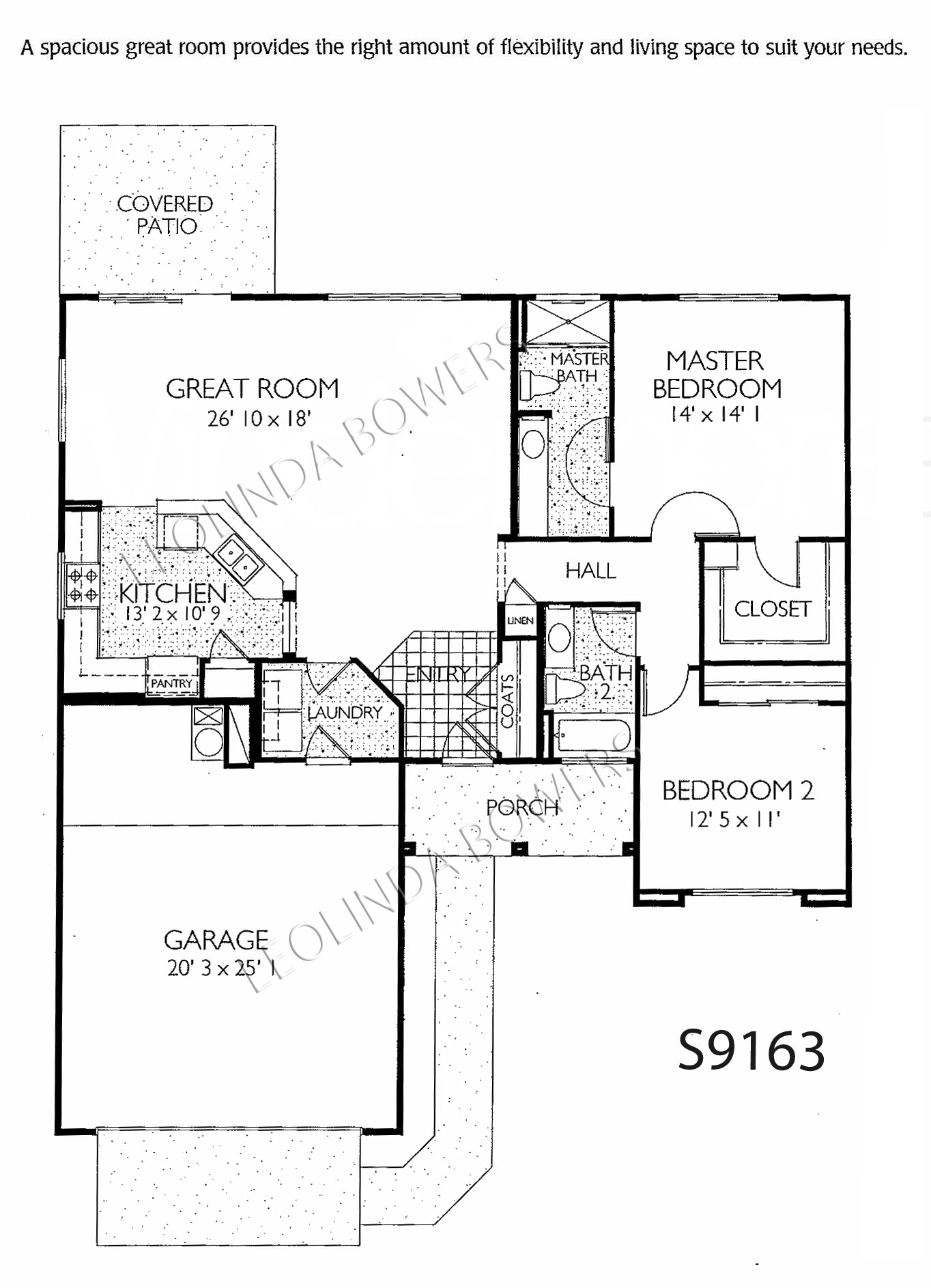Find sun city grand acacia floor plans leolinda bowers for Arizona house plans