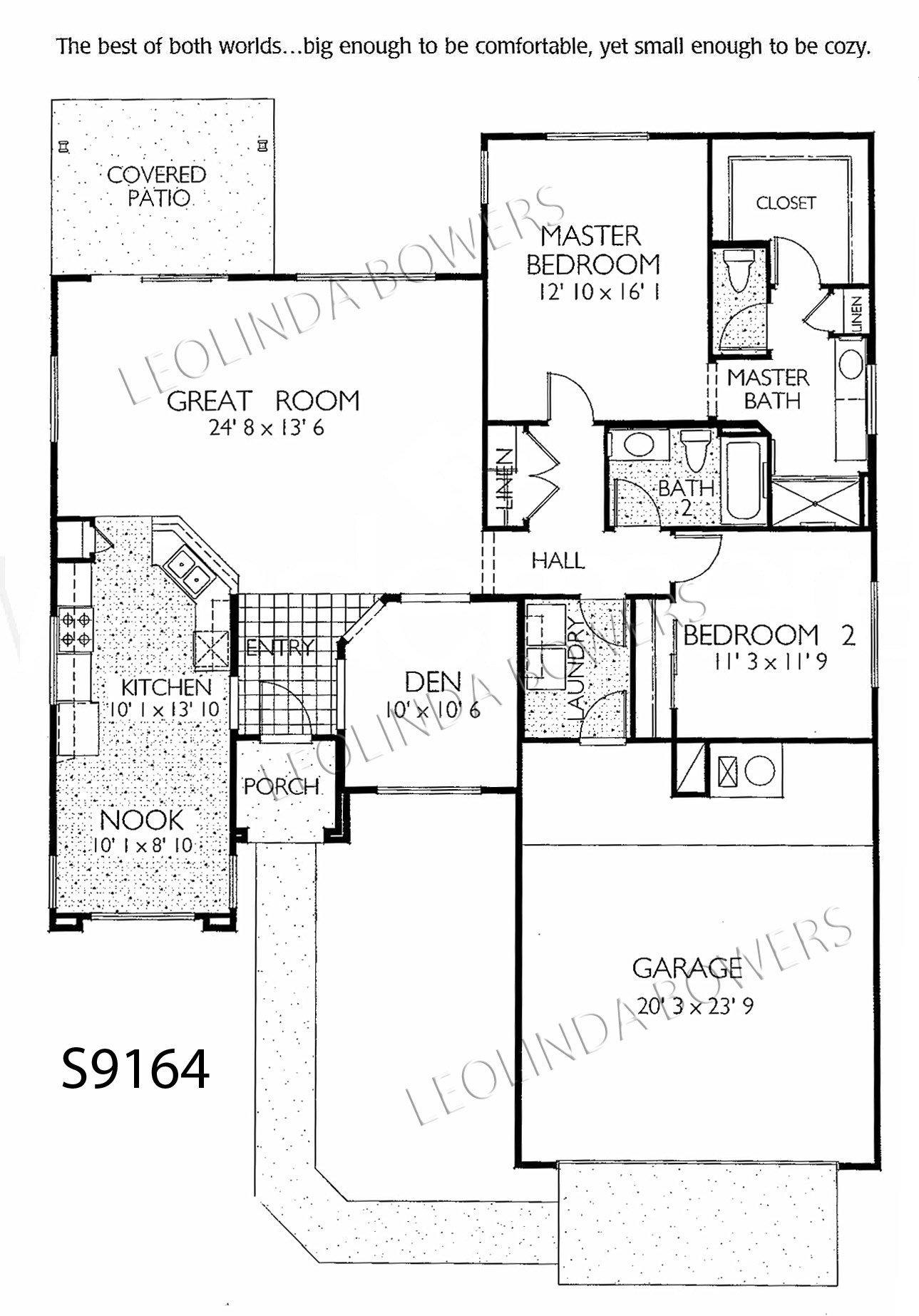 Sun City Grand Madera model floor plan