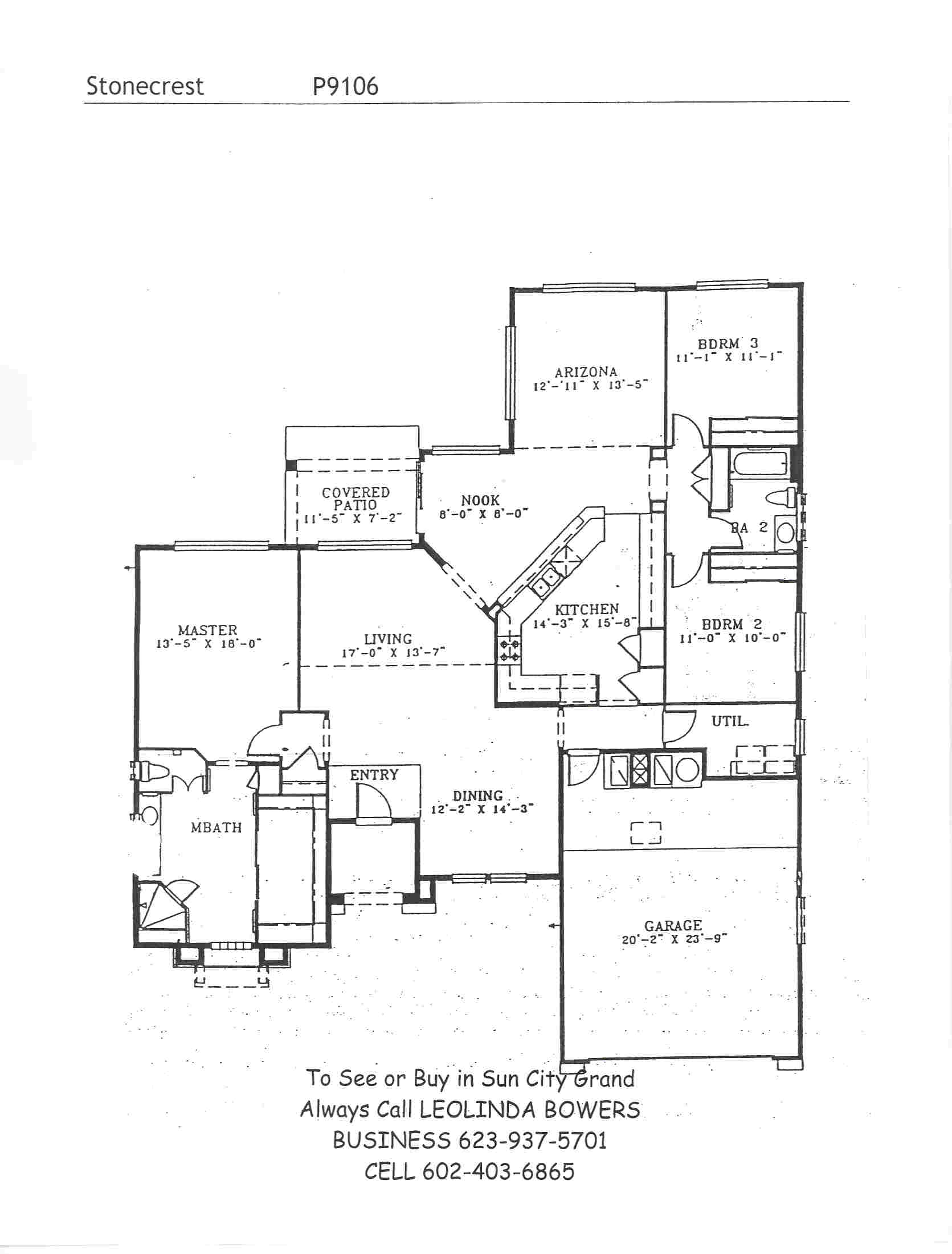 Find Sun City Grand Stonecrest floor plans – Leolinda Bowers