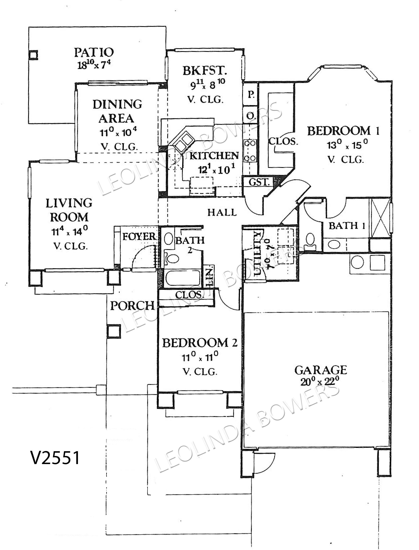 Sun City West Az Floor Plans Sun City West Morocco Floor Plan