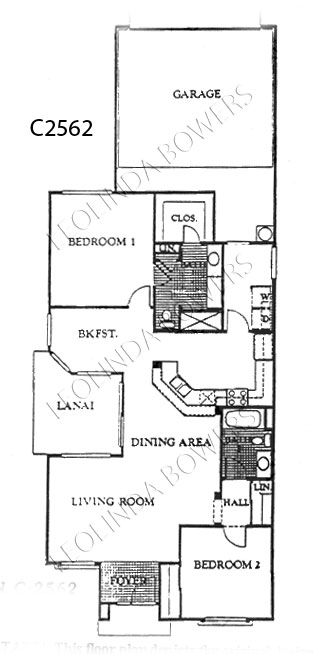 Sun City West Conquistador Model Floor Plan