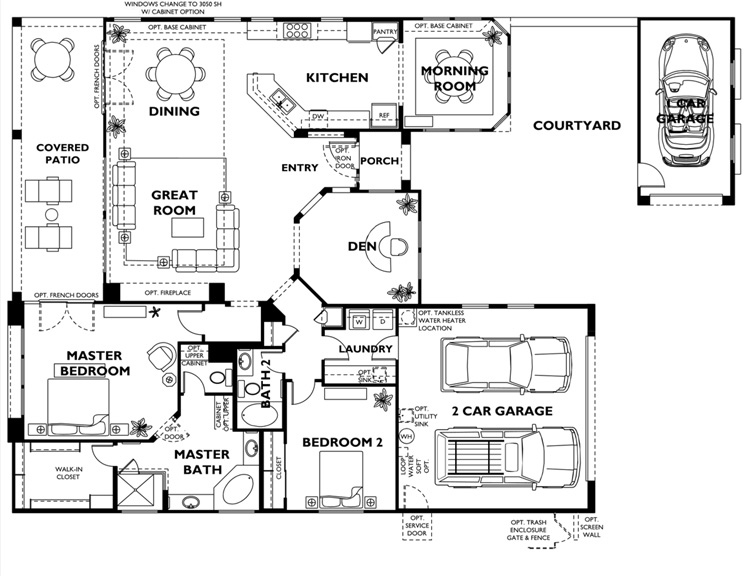 Trilogy at Vistancia CADIZ Model Floor Plan