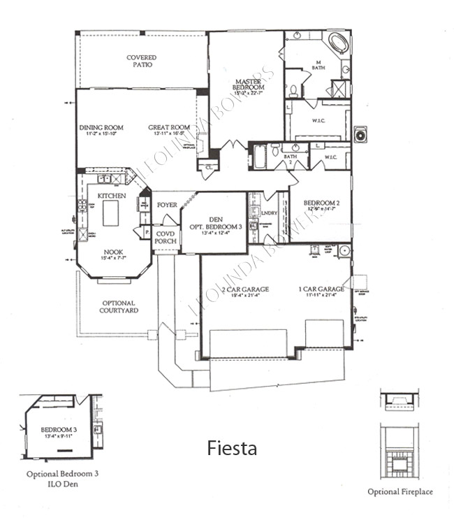 Sun City Festival Fiesta model floor plan