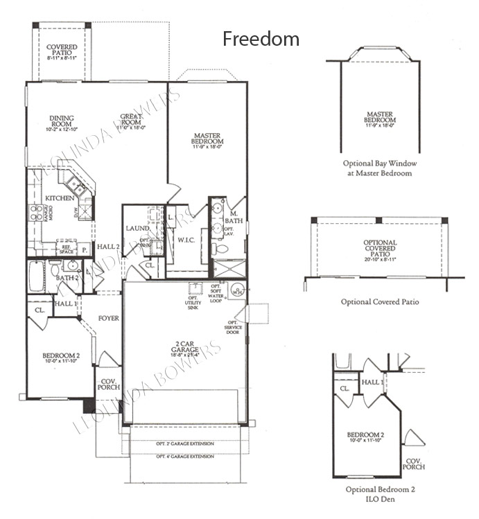 Sun City Festival Freedom model floor plan