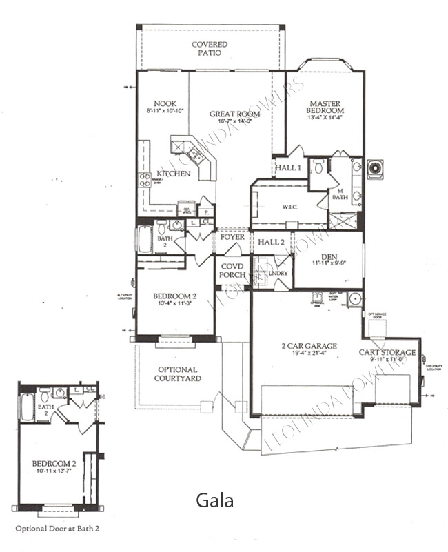 Finding A Floor Plan: Find Sun City Festival Gala Floor Plan