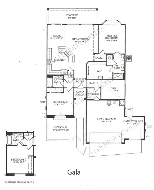 Find sun city festival gala floor plan leolinda bowers for Arizona floor plans