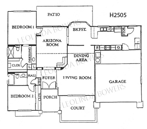 Sun City West Ventura (89) Model Floor Plan