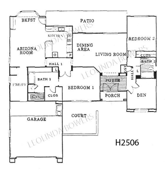 Sun City West Cromwell Floor Plan