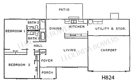 Sun City West Banner Model Floor Plan