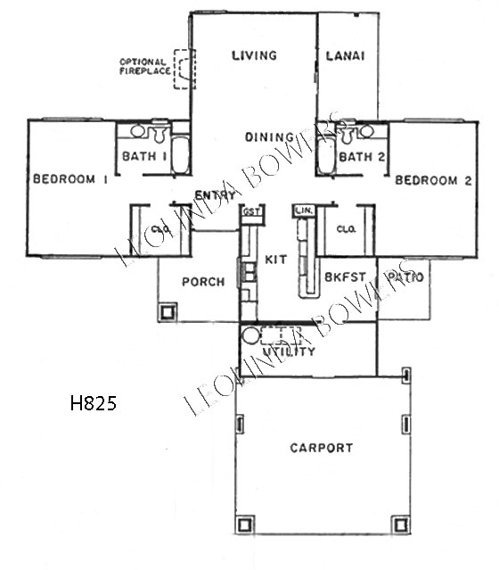 Sun City West Montezuma (82) Model Floor Plan