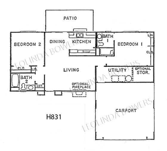 Sun City West Moccasin Floor Plan