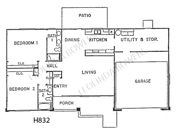 Sun City West Kaibab Model Floor Plan