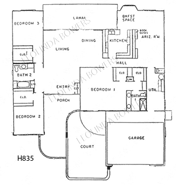 Sun City West San Franciscan Model Floor Plan