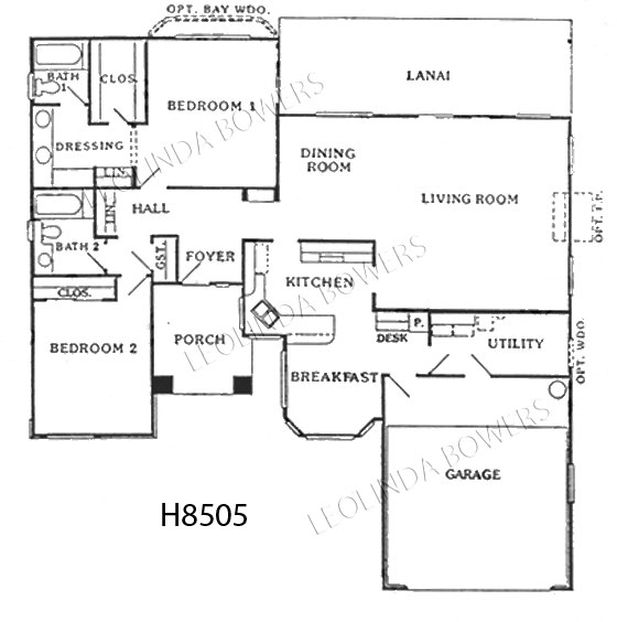 Sun City West Coronado Model Floor Plan