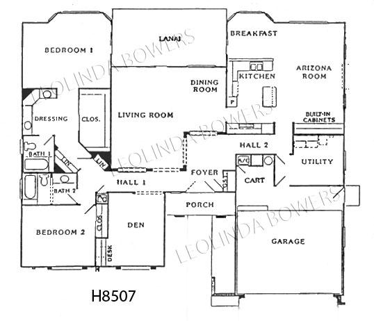 Sun City West Borgata Model Floor Plan