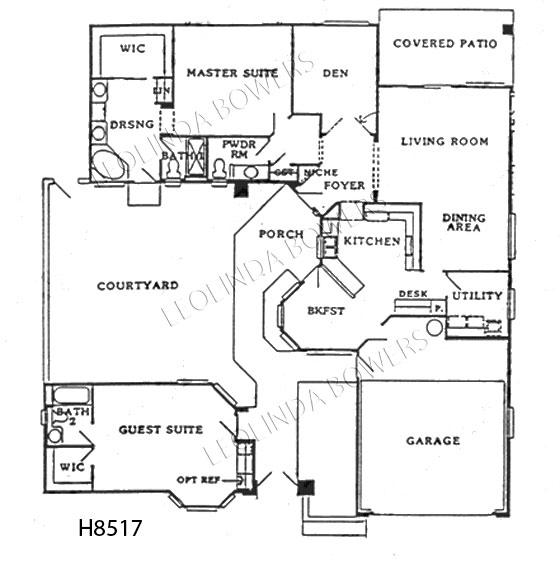 Sun City West Stratford Floor Plan