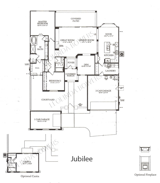 Sun City Festival Jubilee model floor plan