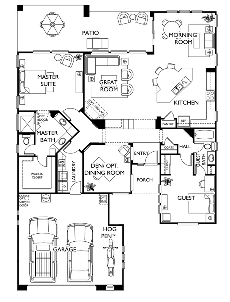 Trilogy at Vistancia LIBERTAS Model Floor Plan