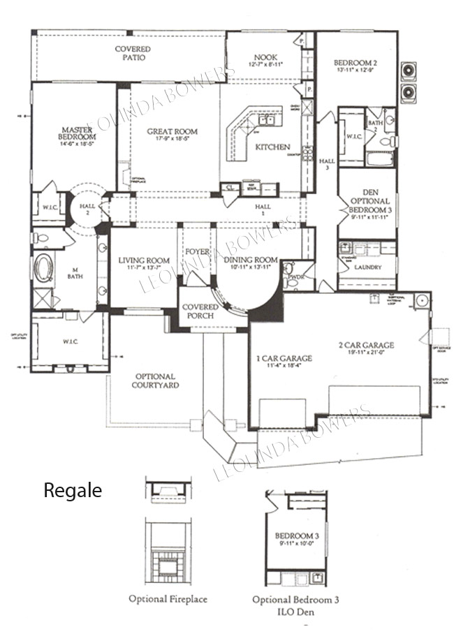 Sun City Festival Regale model floor plan