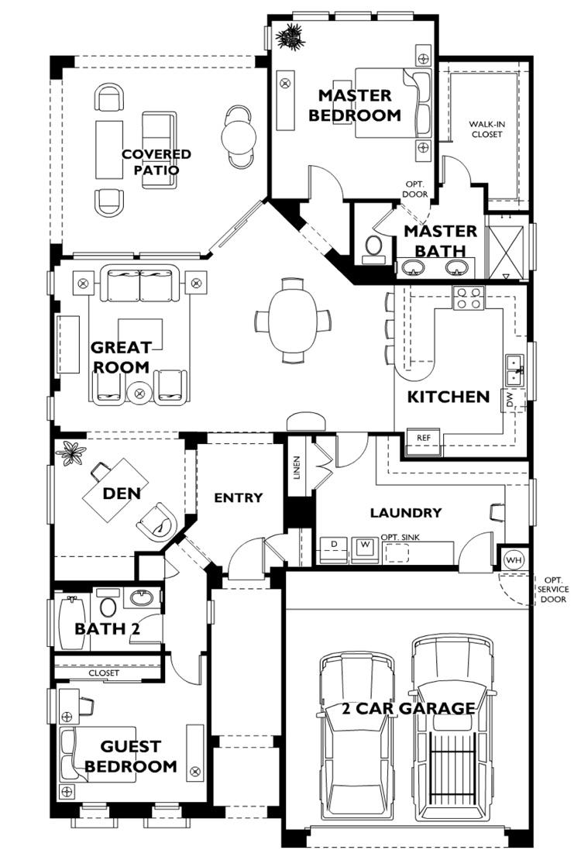 model floor plans