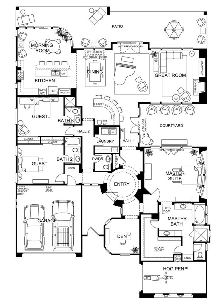 Trilogy At Vistancia Stellare Floor Plan Leolinda Bowers