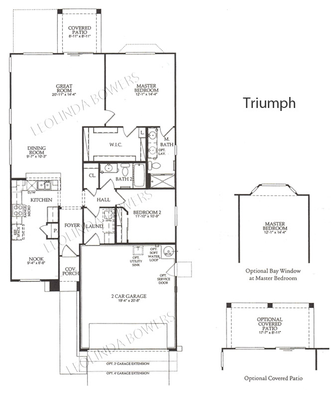 Sun City Festival Triumph model floor plan