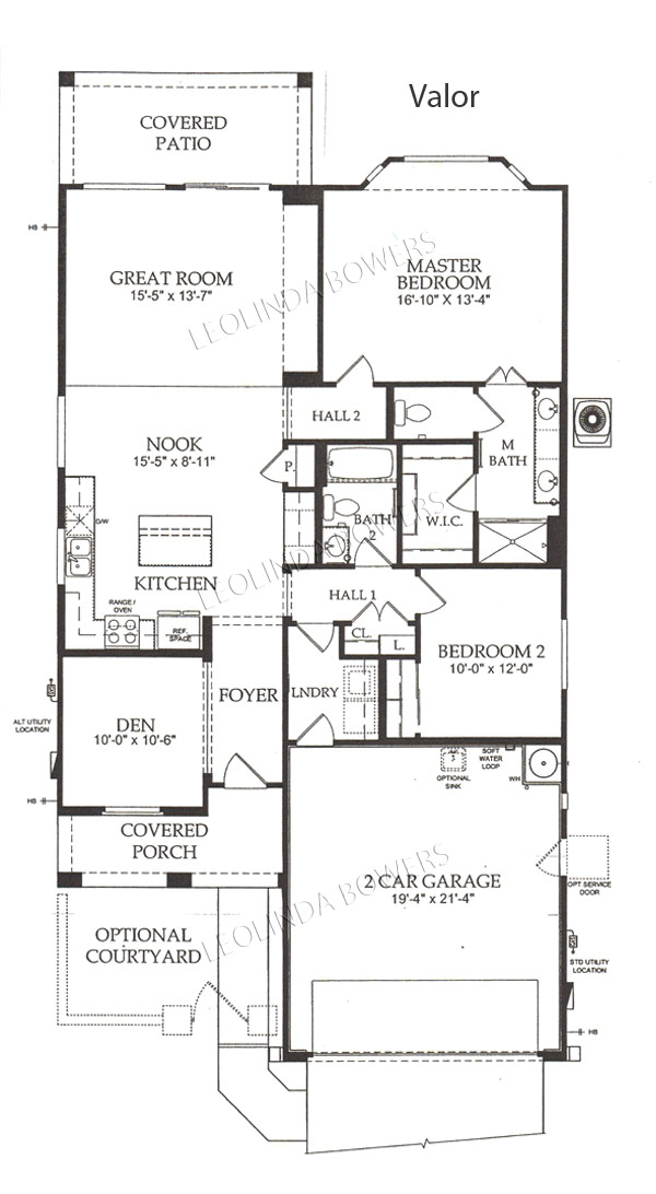 Find Sun City Festival Valor Floor Plan Leolinda Bowers Realtor