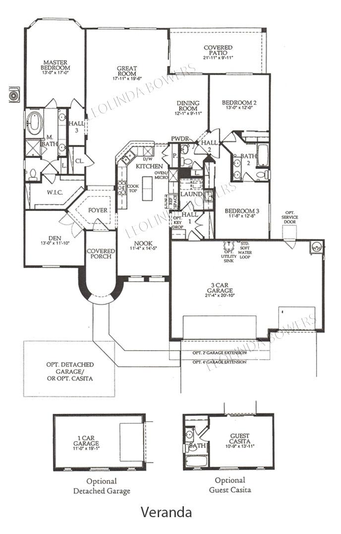 Find Sun City Festival Veranda Floor Plan Leolinda Bowers